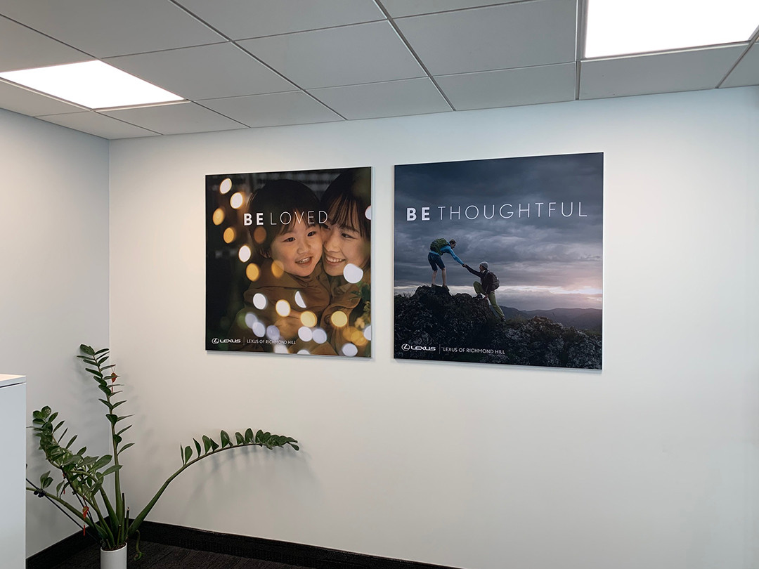 Dealership Wall Graphics