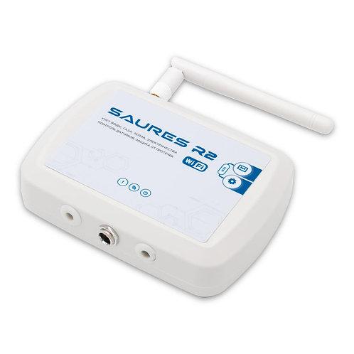Контроллер SAURES R2 m5, Wi-Fi, 8 каналов, внешняя антенна, внешнее питание