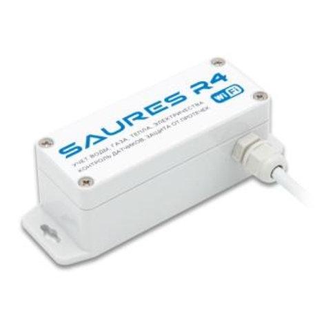 Контроллер SAURES R4, Wi-Fi, 2 канала + 8 RS-485, внутренняя антенна