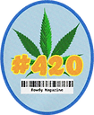 Rowdy Sticker Hashtag 420.png