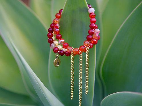 Joy - gold accents 3 bracelets
