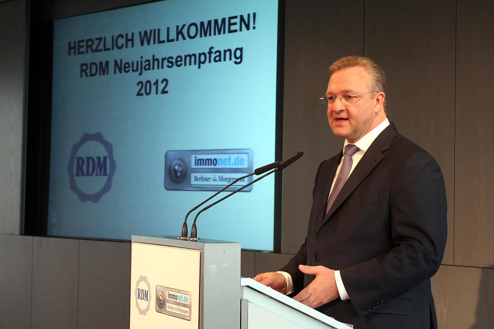 RDM Neujahrsempfang 2012