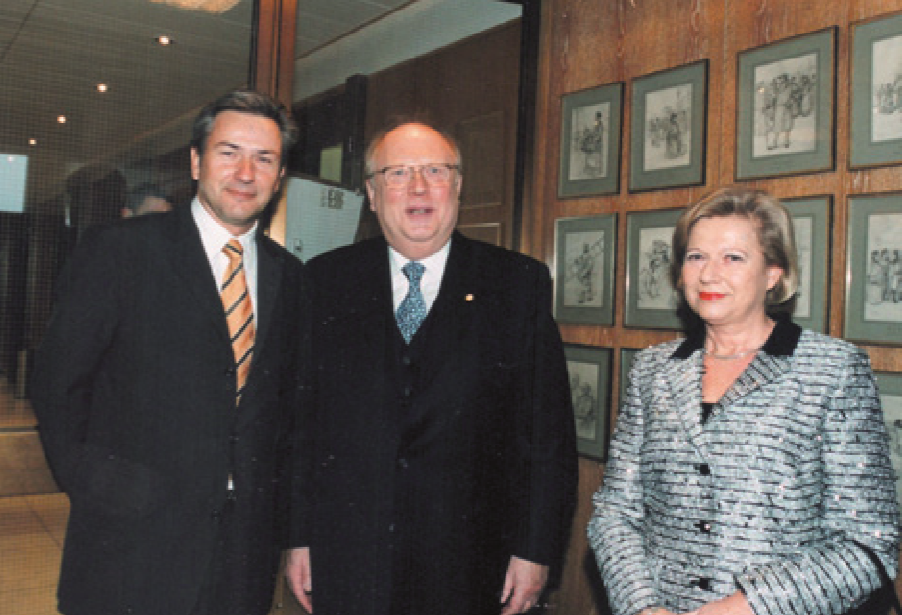 ... mit dem Regierenden Bürgermeister von Berlin, Klaus Wowereit