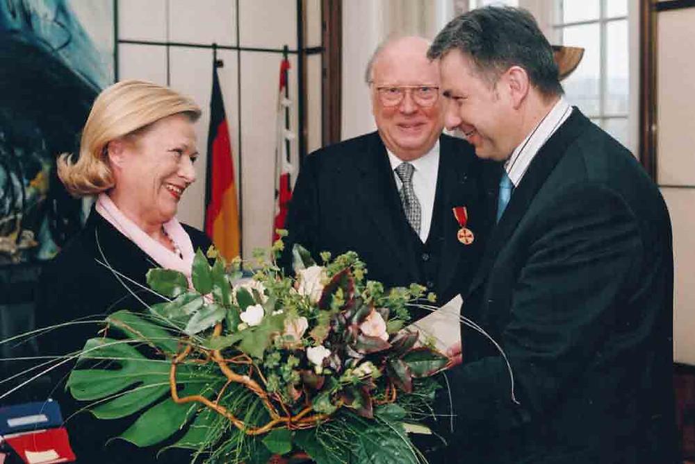 Verleihung des Bundesverdienstordens