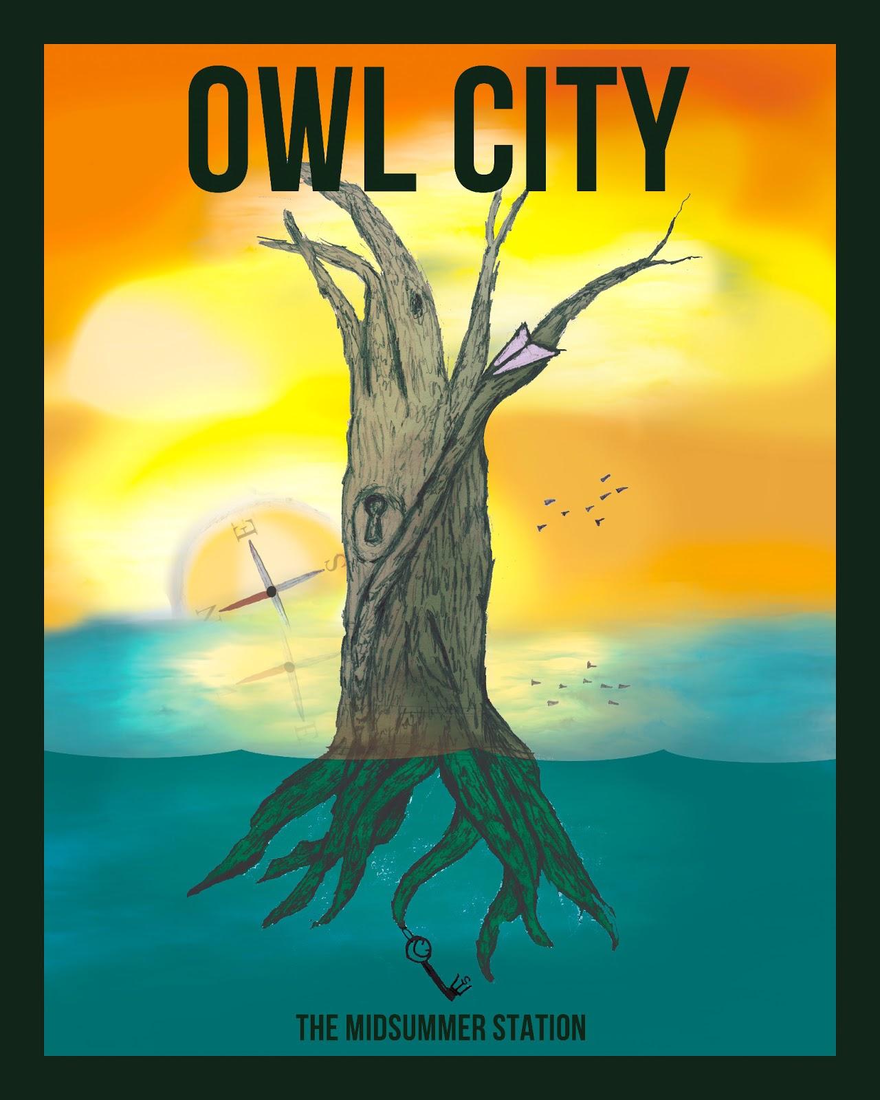 Owl City Poster