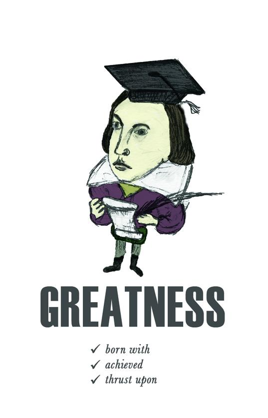 Shakespeare graduation Card