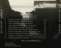 Tableaux | Will Duchon