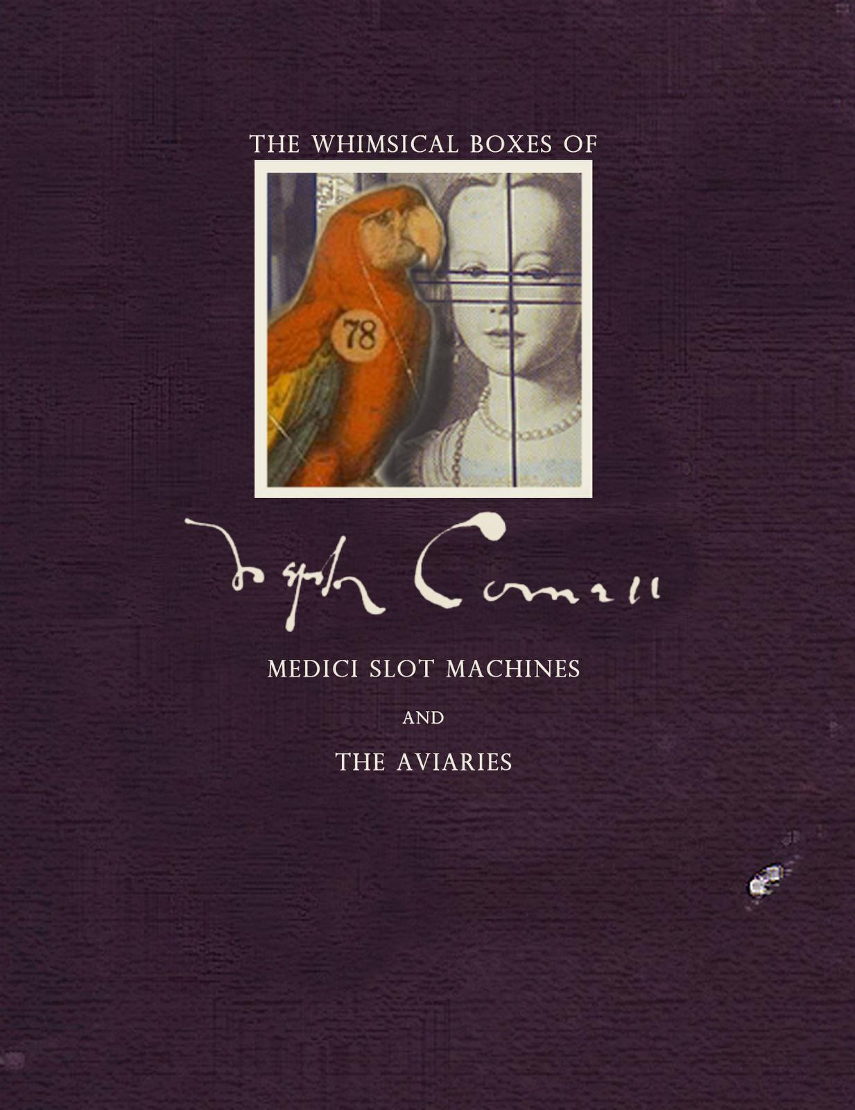Whimsical Boxes of Joseph Cornell