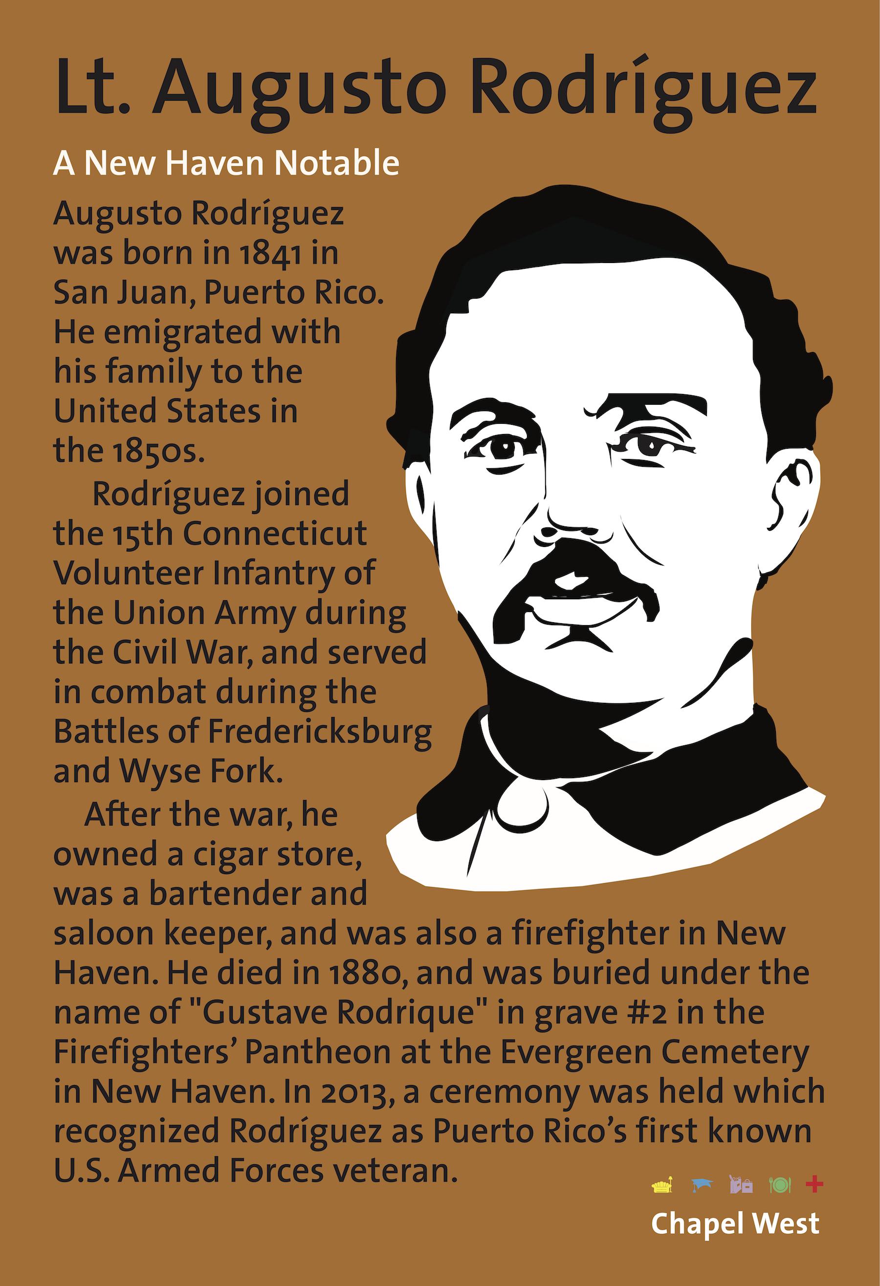 Lt. Augusto Rodriguez Banner Book