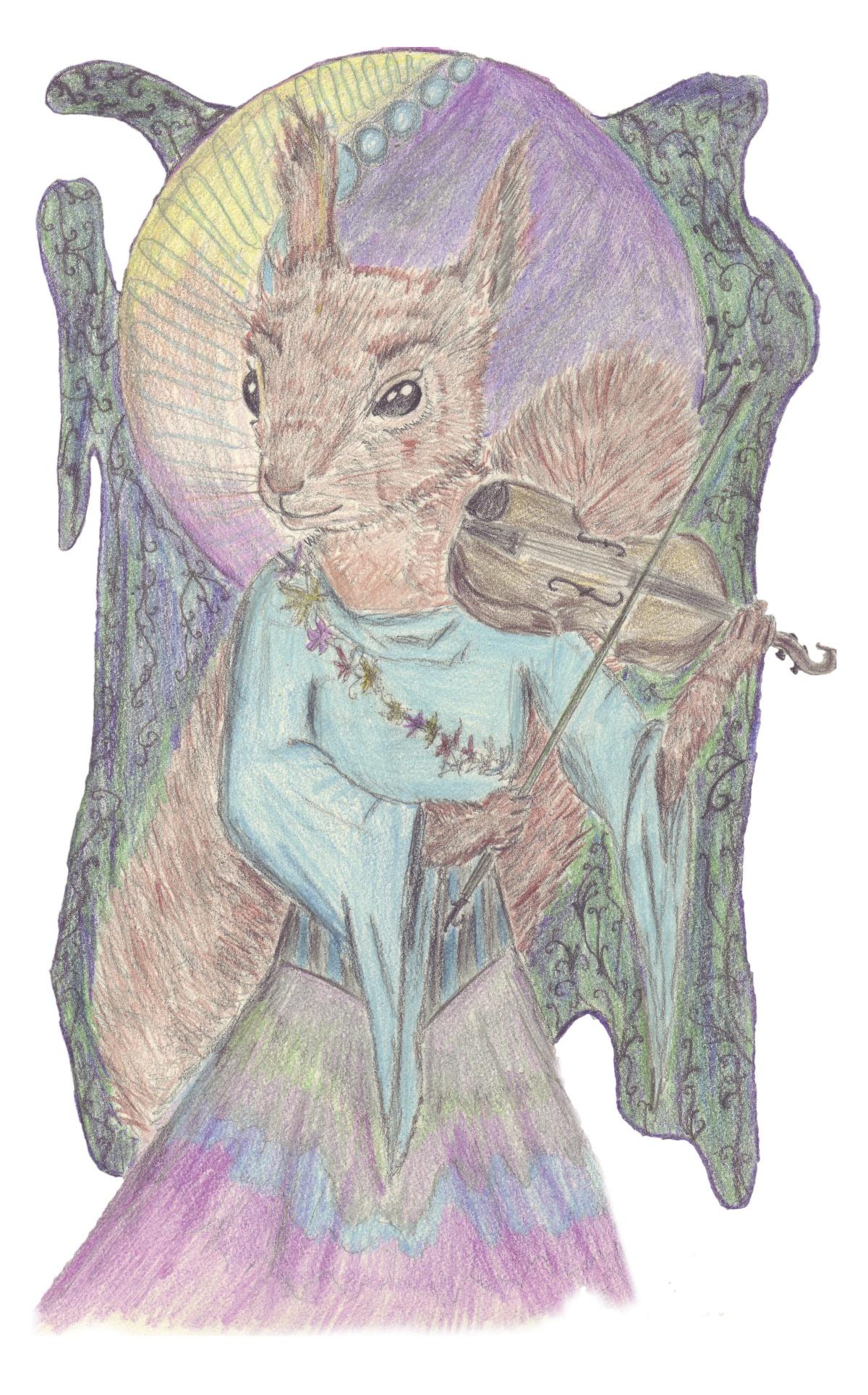 Dancing Violinist