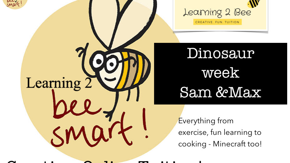 Dino Week e-learning 53 page pack
