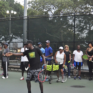 Health and Wellness Event- Intermediate Tennis Clinic