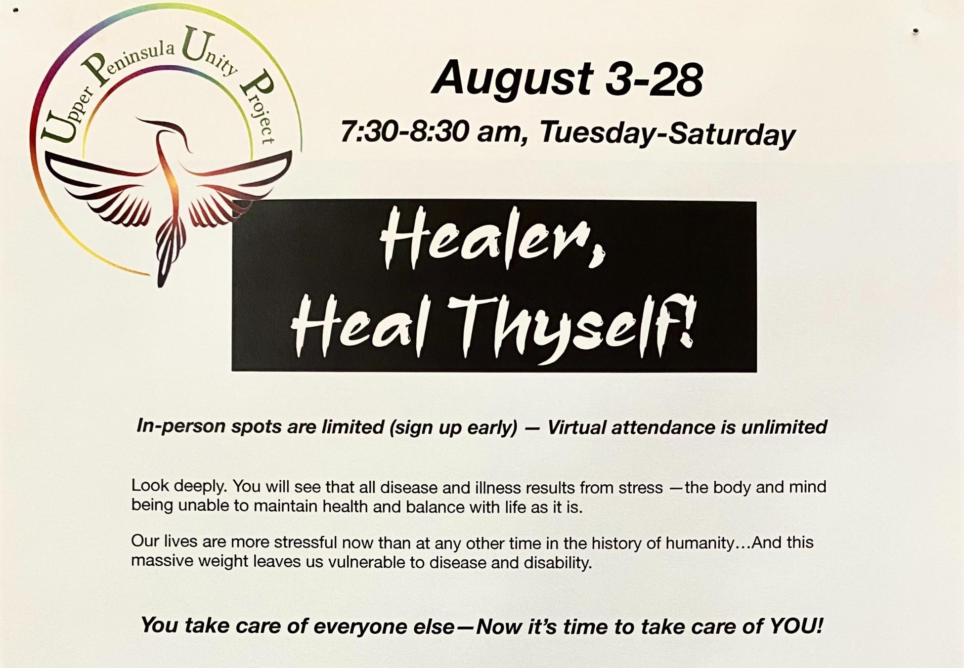 Heal Thyself Meditation