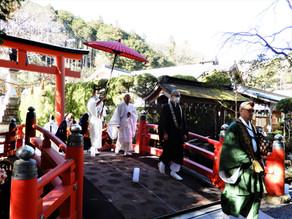 宇賀神王浴酒神事を斎行致しました