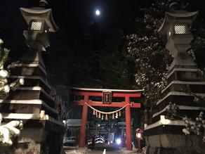 月夜の大晦日