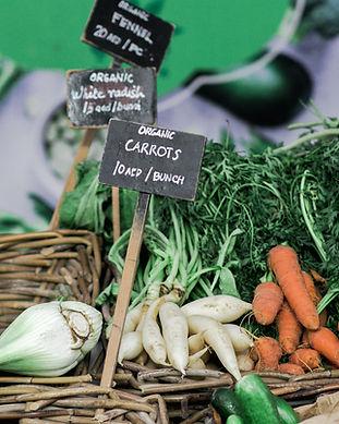 Mercado de agricultores orgánicos