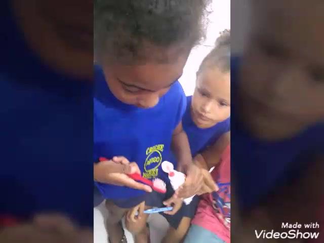 Saúde Bucal - Creche Isabel