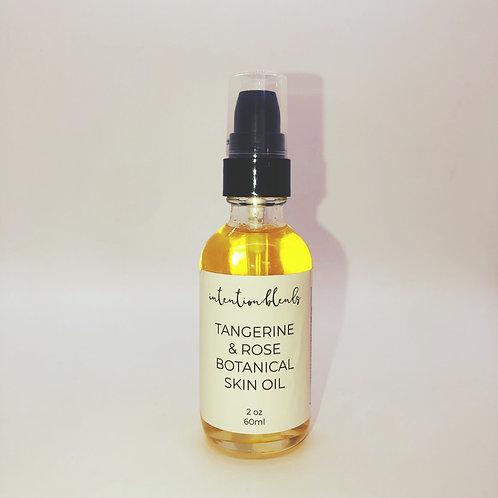 Tangerine & Rose Botanical Skin Oil, 2oz
