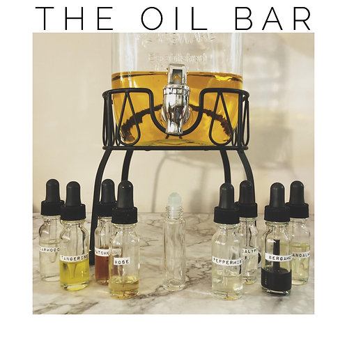 The Oil Bar, A Custom Blend Experience
