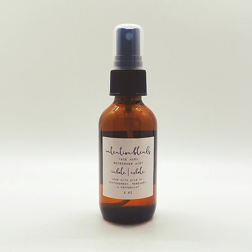 Inhale / Exhale Face Mask Refresher Mist