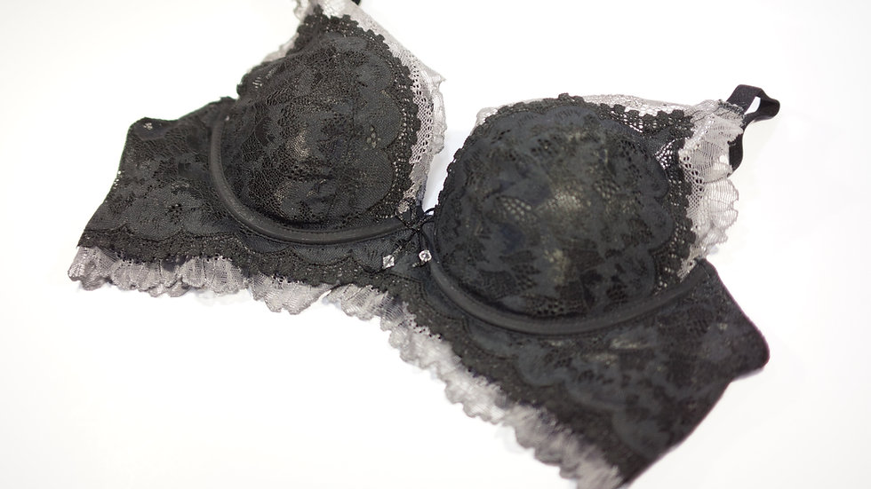 Lavender Push Up Bra #BC330207 Black (Body Chocolate®)