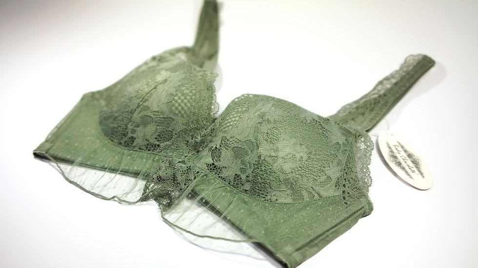 Temptation Padded Bra #BC330040 Green (Body Chocolate®)