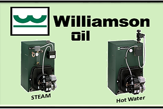 Williamson oil fired steam and hot water boilers