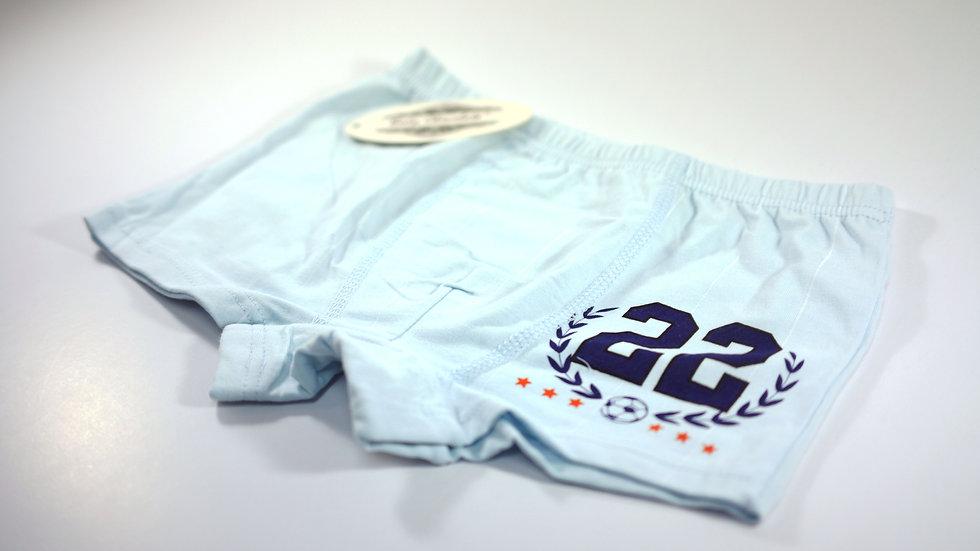 Boy's Boxer #BC313124 Blue (Body Chocolate®)