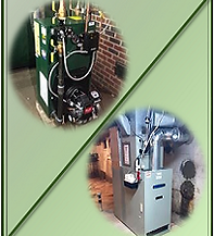 oil fired furnace and boiler installation
