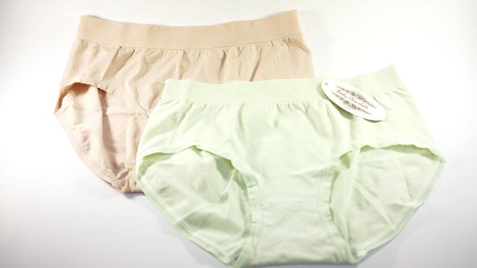 Single Bottom Brief (2-Pack) #BC313209 Light Green+Light Purple Body Chocolate®