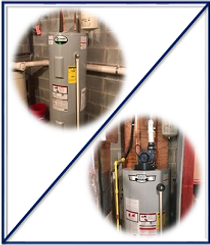 gas and electric hot water heaters