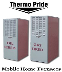 Gas and oil mobile home furnaces