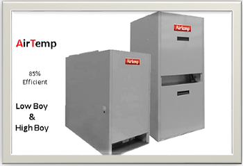 airtemp high and low boy oil furnaces
