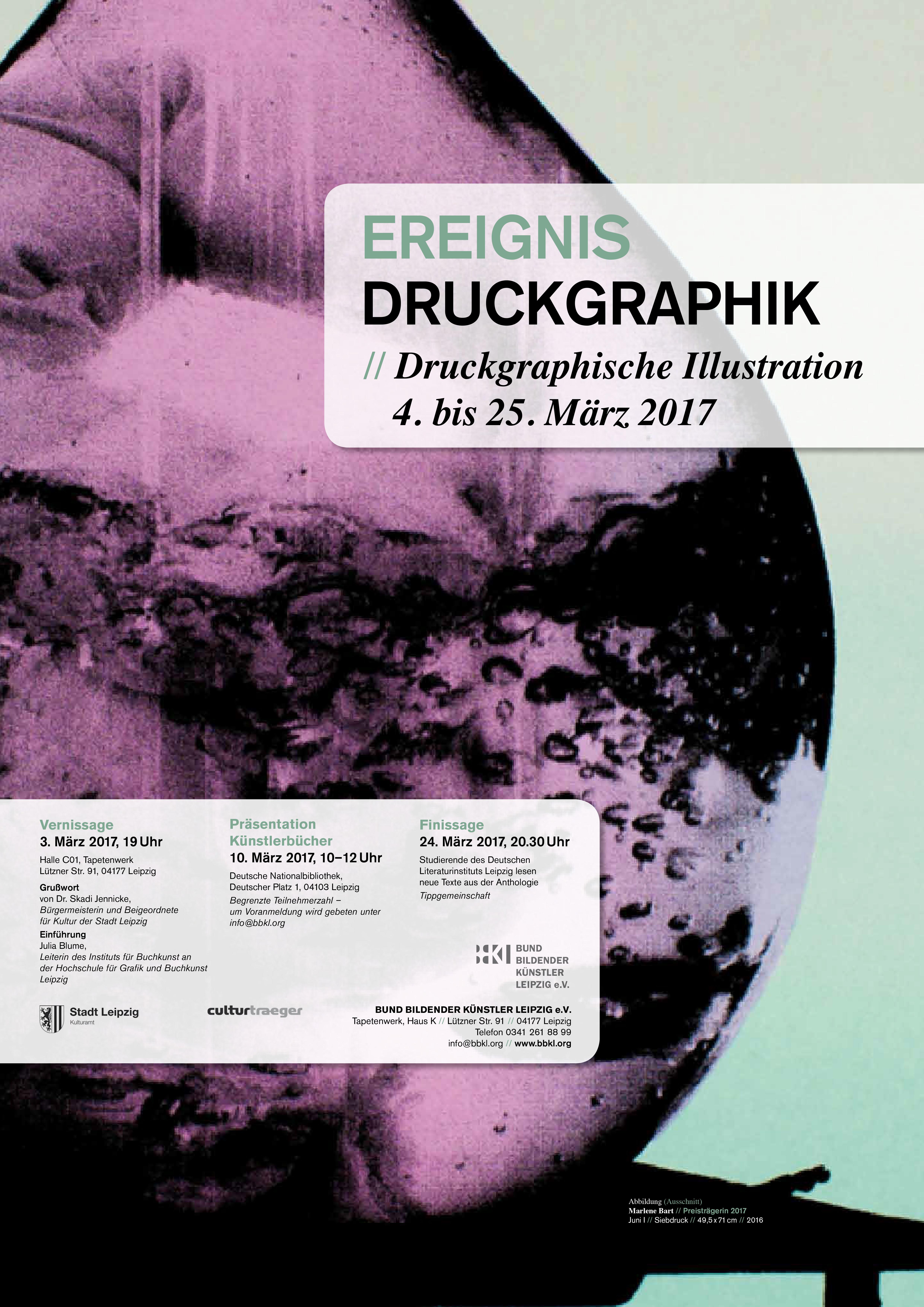 EREIGNIS DRUCKGRAPHIK 2017