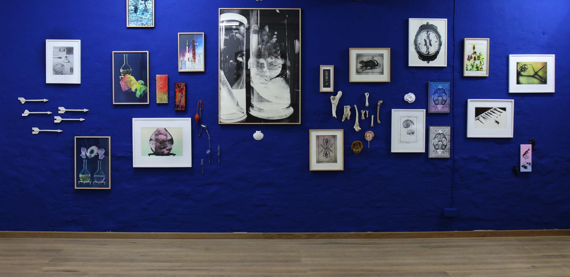 Installation Shot Novum Organum MetaVier Galerie Hannover 2019