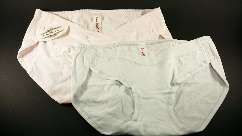 Care Brief (2-Pack) #BC313161 Pink+Grey (Body Chocolate®)