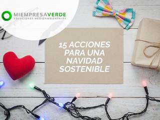 Una Navidad más sostenible