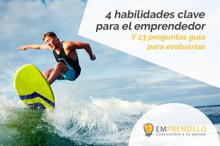 4 habilidades clave para el emprendedor
