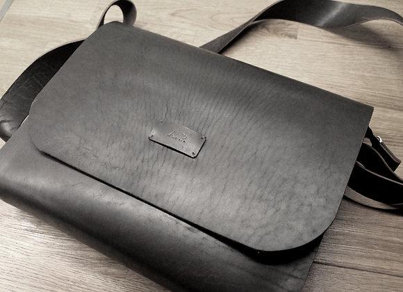 Кожаная сумка через плечо Tempra #2
