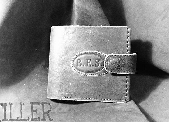 Мужской кожаный кошелек Bes #1