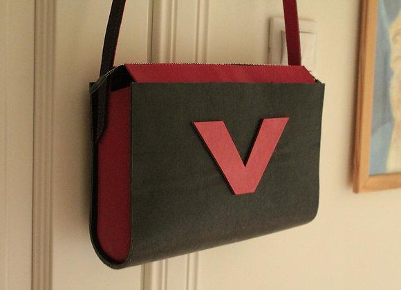 Женская кожаная сумка через плечо Sgargiante #1