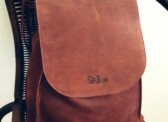 Женский кожаный рюкзак Quitidiano #2