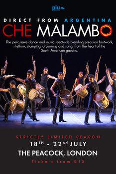 Che Malambo - Peacock Theatre