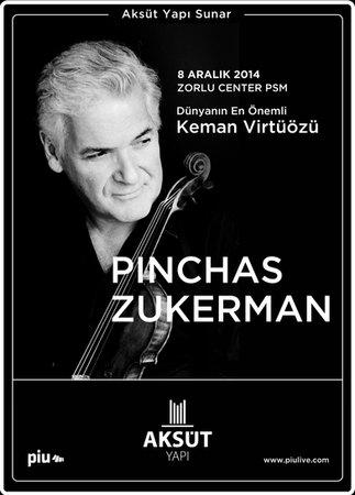 Pinchas Zukerman - Zorlu Centre