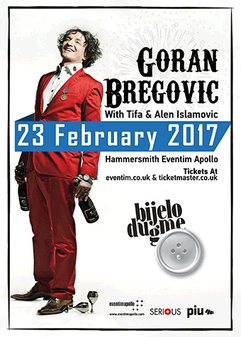 Goran Bregovic - Eventim Apollo