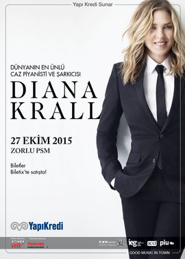 Diana Krall - Zorlu Centre