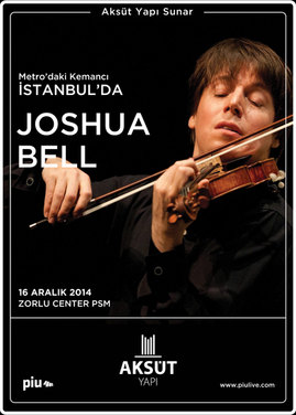 Joshua Bell - Zorlu Centre