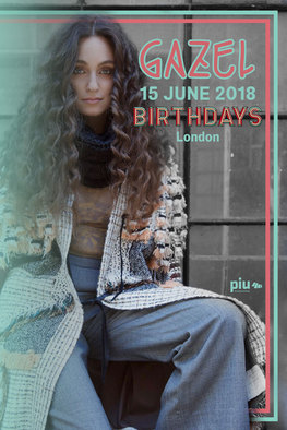 Gazel - Birthdays