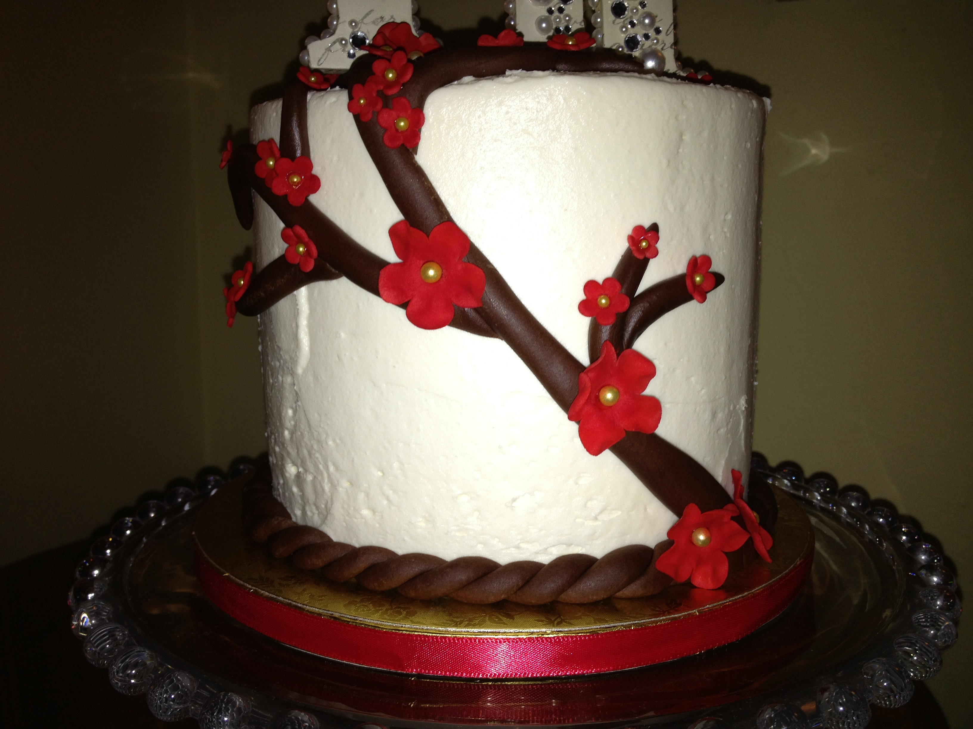 vine wedding cake trailing vines wedding cake 21596