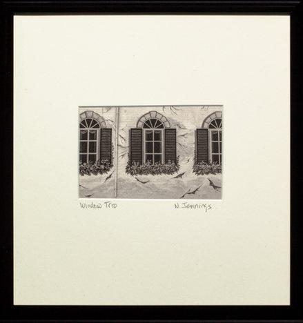 """Nancy Jennings, """"Window Trio"""""""